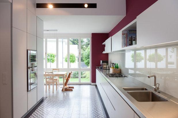 houzzbesuch ein reihenmittelhaus der gr nderzeit behutsam umgebaut. Black Bedroom Furniture Sets. Home Design Ideas