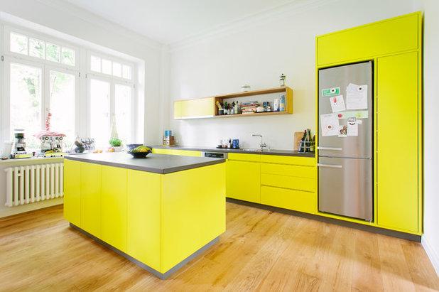 Kleine Fluchten: 16 knallige Küchen aus aller Welt