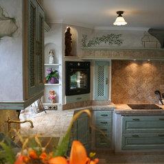 Villa Medici mediterrane Landhausküchen & Bäder - Aschheim b ...