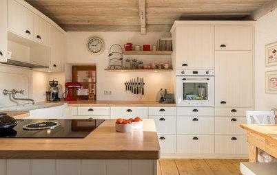 Neu auf Houzz: 5 Küchen in Weiß- und Cremetönen im Detail