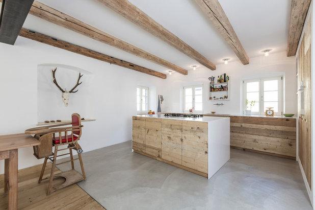 cucina del mese dal recupero di vecchie assi uno stile. Black Bedroom Furniture Sets. Home Design Ideas