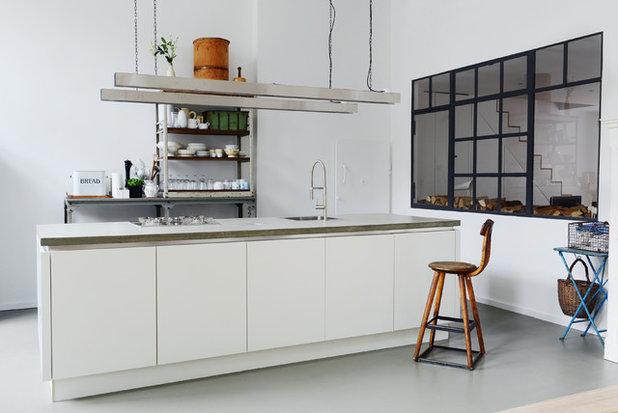 Industrial Kitchen by Studio Swen Burgheim