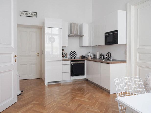 Skandinavisch Küche by traumzuhause