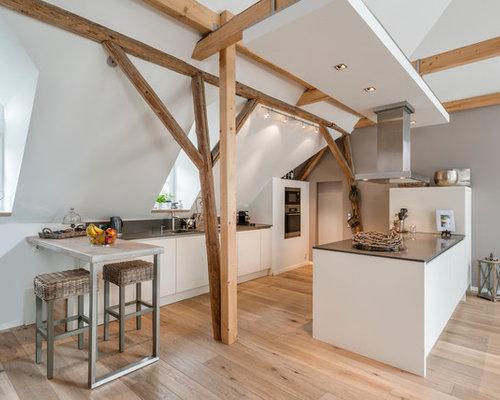 Küchen mit hellem Holzboden Ideen, Design & Bilder | Houzz