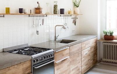 Eine maßgefertigte Modulküche für eine Berliner Mietwohnung …