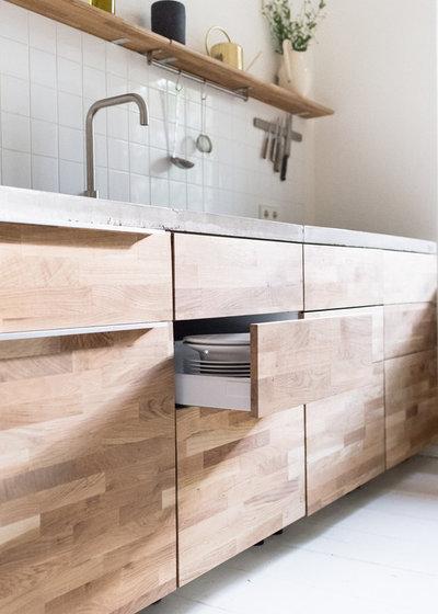 eine ma gefertigte modulk che f r eine berliner mietwohnung. Black Bedroom Furniture Sets. Home Design Ideas