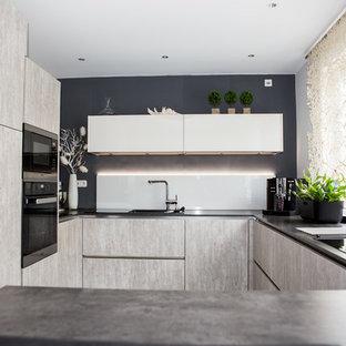 Cucina ad U Francoforte - Foto e Idee per Ristrutturare e Arredare