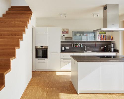 Küchen Mit Küchenrückwand In Braun Ideen, Design & Bilder | Houzz