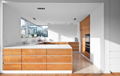 Side By Side Kühlschrank In Küche Integrieren : Durchdachter minimalismus eine küche mit verborgenen talenten