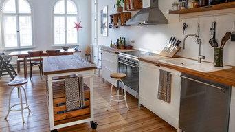 Wohnküche im Altbau