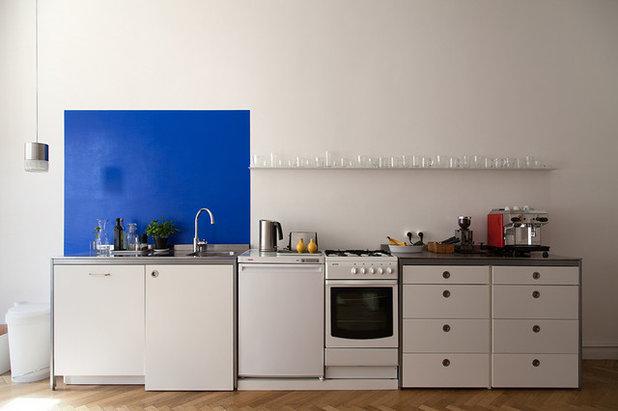 5 couleurs pour r veiller une cuisine blanche - Decoration du cuisine ...