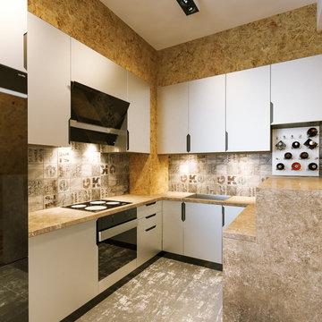 Wohnung Innenarchitektur Visualisierung