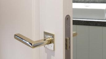 Zimmertürbeschläge im Landhausstil weiße Bronze
