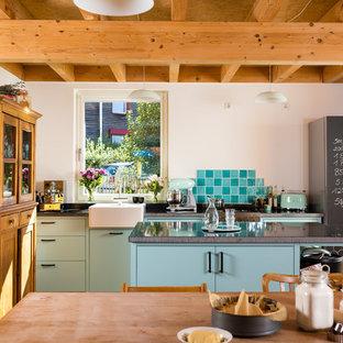 Cucina shabby-chic style Colonia - Foto e Idee per Ristrutturare e ...