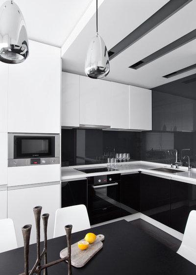 Современный Кухня by Design3 | Дизайн в кубе