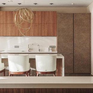 Неиссякаемый источник вдохновения для домашнего уюта: кухня в современном стиле