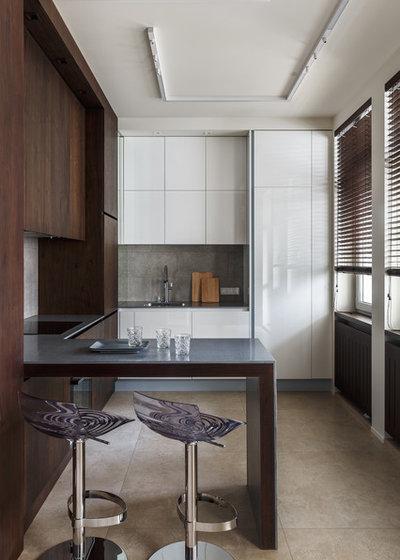Современный Кухня by AB Architects