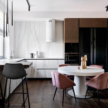 Apartment by draft of B&H studio