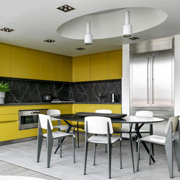 Apartment in Moscow by project Lazzaro Raboni