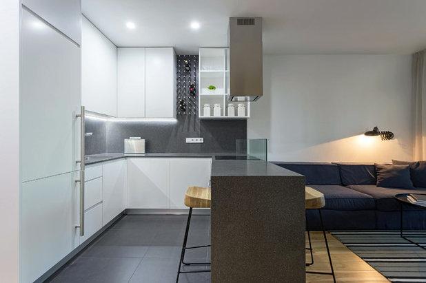 Кухня-гостиная дизайн 12 кв м