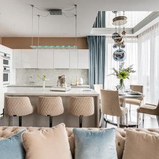 Источник вдохновения для домашнего уюта: кухня в современном стиле
