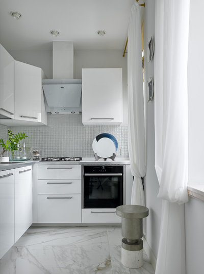 Contemporary Kitchen by dots&points | Ирина Киреева