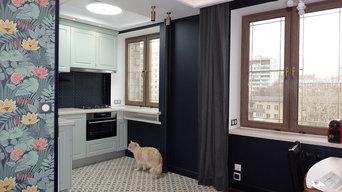 Бутырский вал - капитальный ремонт трехкомнатной квартиры в кирпичном доме