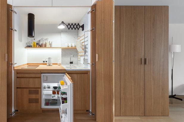 Современный Кухня by Studio Bazi