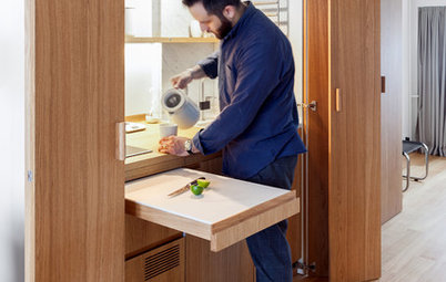 Smart Ways to Squeeze a Kitchen Into a Cramped Space