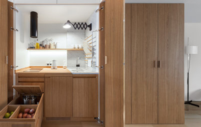 How to Fit a Kitchen Into a Small Space