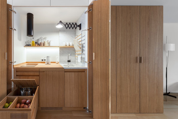 Contemporary Kitchen by Studio Bazi