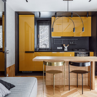 75 Beautiful Scandinavian Kitchen With Yellow Cabinets Pictures Ideas January 2021 Houzz
