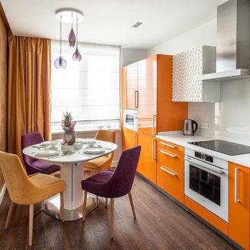 Дизайн-проект квартиры для молодой пары в Екатеринбурге