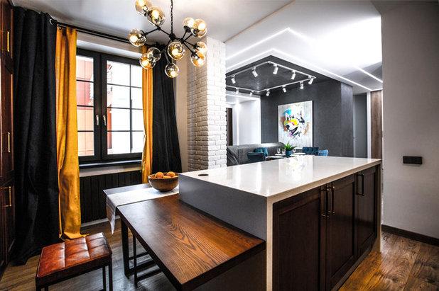 Современный Кухня by Студия дизайна Four rooms