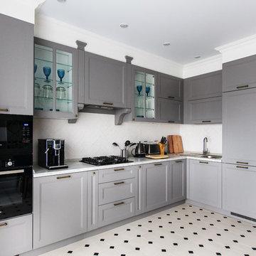 Дизайн трех комнатной квартиры в ЖК АРТ СИТИ