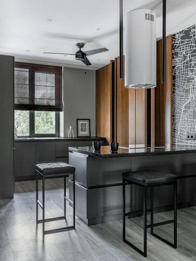 Современный Кухня by Архитектурная студия QUADRUM