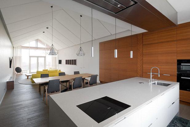 Современный Кухня by Le Atelier