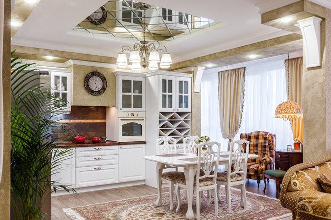 Классический Кухня by F.O. Kuz Design мастерская дизайна интерьера