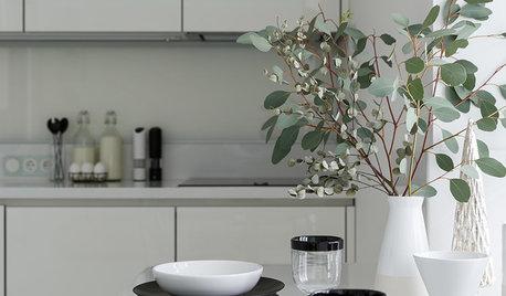 Проект недели: Кухня-гостиная с исчезающим телевизором