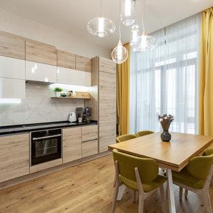 Идея дизайна: кухня в современном стиле