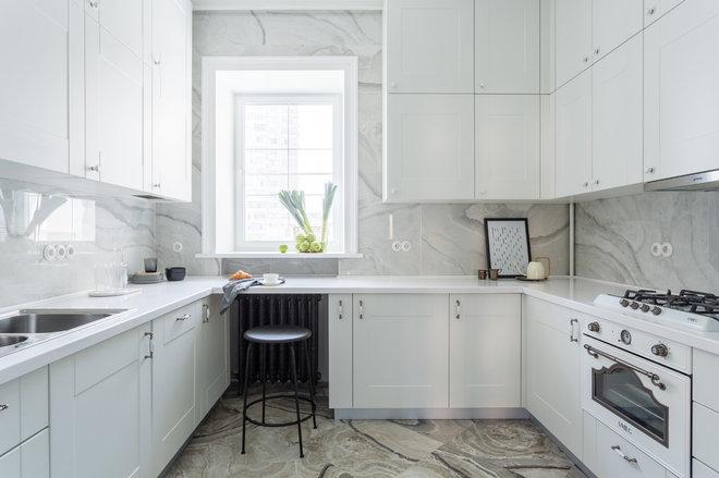 Современная классика Кухня by Flatplan