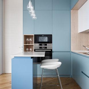 На фото: кухня в современном стиле