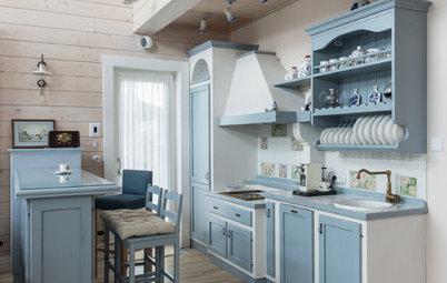 Фотоохота: Кухня под старину — 23 варианта