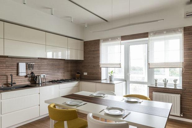 Современный Кухня by Студия дизайна интерьера МЕЧТА SPACE