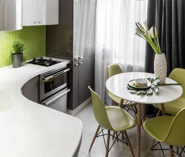 Scandinavian Kitchen by iPozdnyakov Studio
