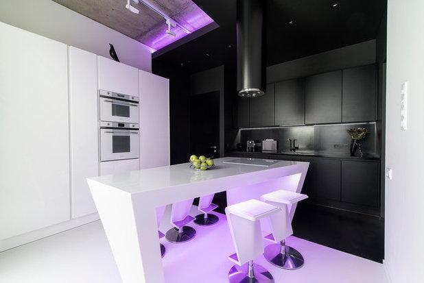 Современный Кухня by Geometrix Design