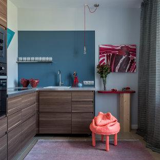 Неиссякаемый источник вдохновения для домашнего уюта: маленькая кухня в современном стиле