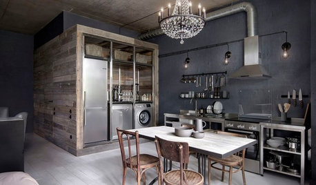 Moscow Houzz Tour: An Indestructible, Industrial-Style Apartment