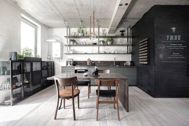 Industrial Kitchen by INT2architecture