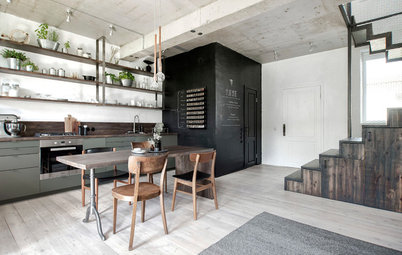 Russia Houzz Tour: Loads of Creativity in a Little Townhouse